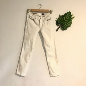 AG |Adriano Goldschmied white jeans